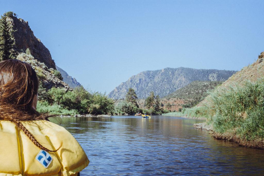 Overnight Rafting in Colorado